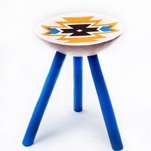 Ručne maľovaná stolička Viscri, 38 cm