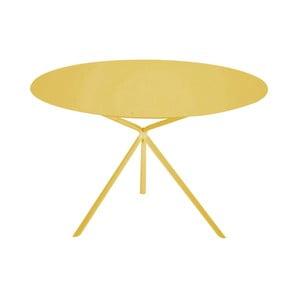 Žltý konferenčný stolík MEME Design Twin