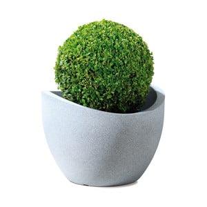 Záhradný kvetináč Globe 60 cm, svetlý