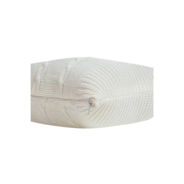 Vankúš Kosem, 43x43 cm, krémová