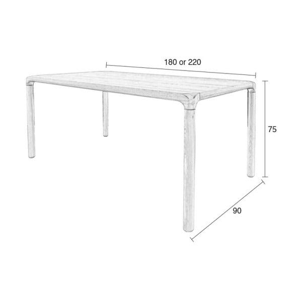 Jedálenský stôl Storm, 180 x 90 cm