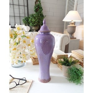 Dóza Ceramic Light Purple Antique
