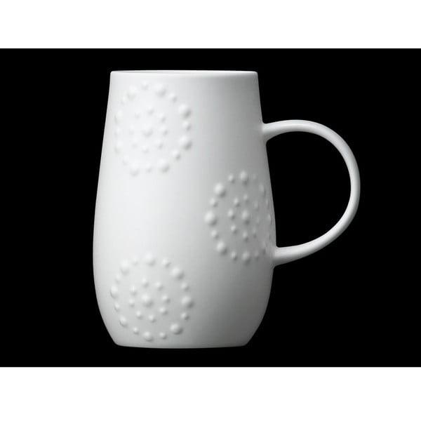 Hrnček z kostného porcelánu Droplet Kaleidoscope