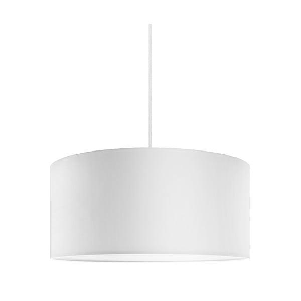 Závesné svietidlo Tres 50cm, biela/biela/biela, priemer 50 cm