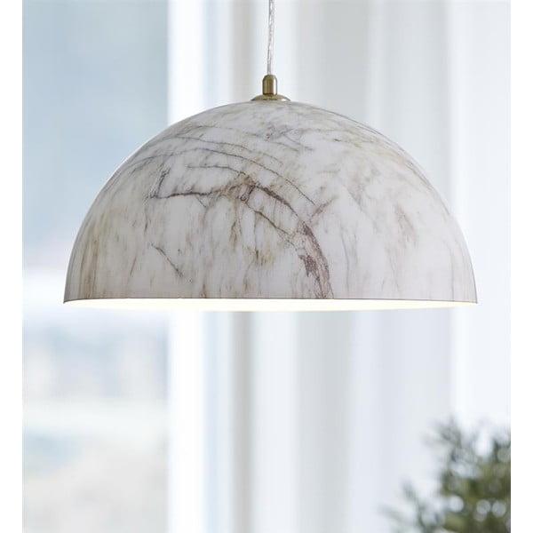 Závesné svetlo s aplikáciou mramoru Markslöjd Rock