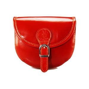 Kožená kabelka Pisa Rosso