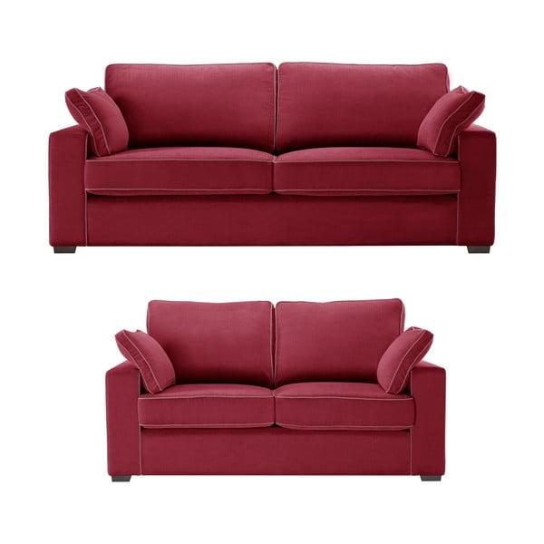 Dvojdielna sedacia súpravaJalouse Maison Serena, červená