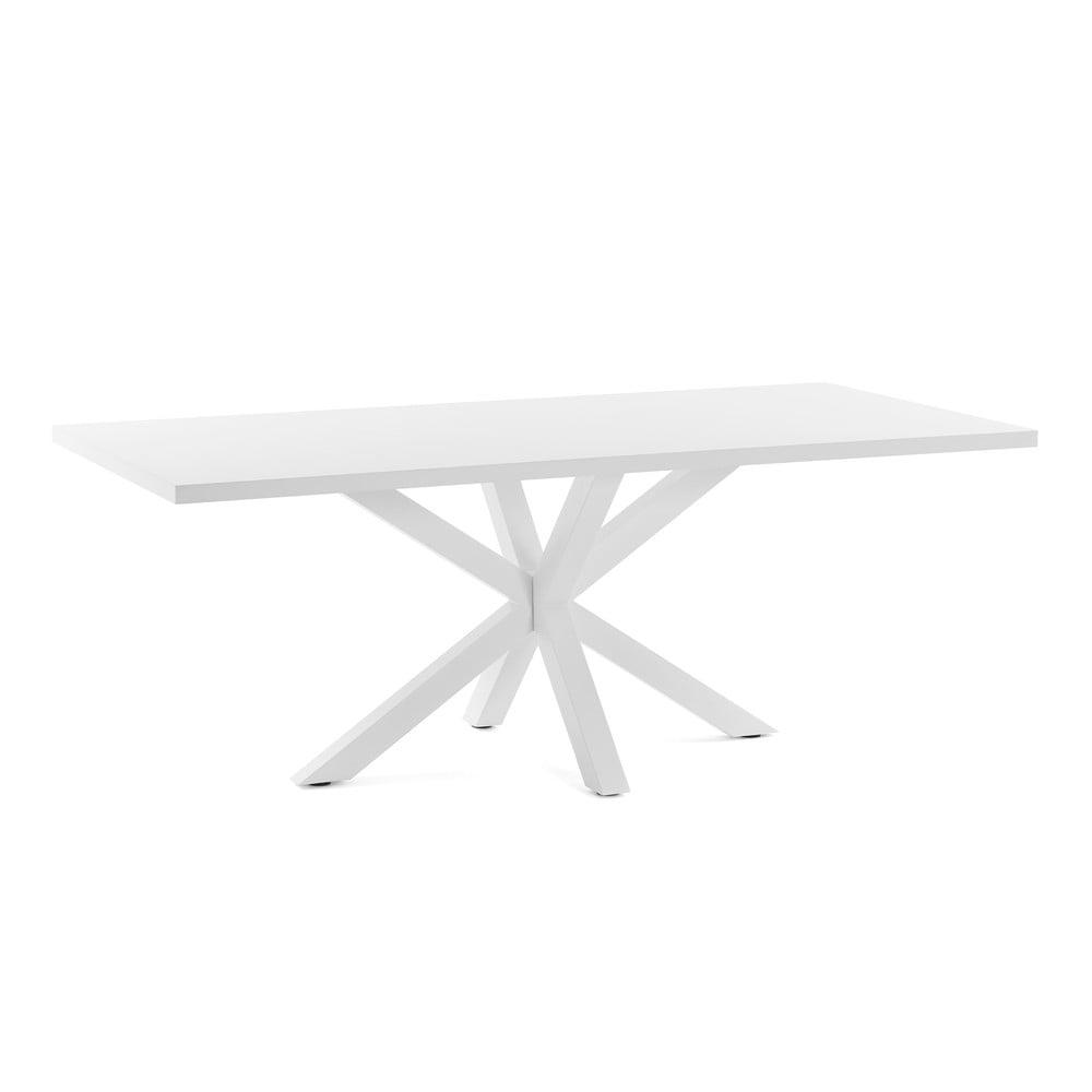 Biely jedálenský stôl La Forma Arya, dĺžka 160 cm