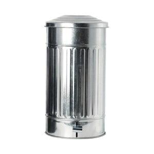 Odpadkový kôš Garbage Zinc, 25,5x48 cm