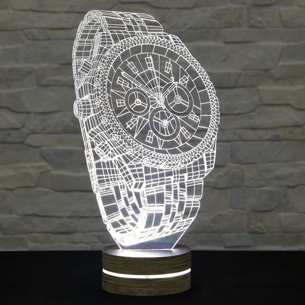 3D stolová lampa Watch