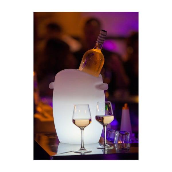 Plávajúci svietiaci chladič na fľaše Champagne Bucket