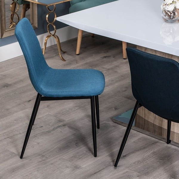 Tmavomodrá stolička Ixia Simplicity Vintage