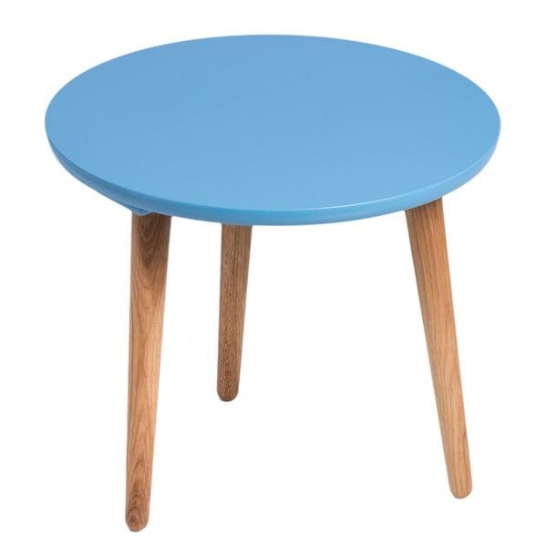 Stôl D2 Bergen, 45 cm, modrý