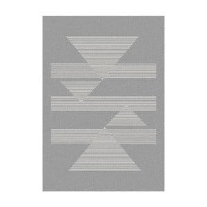 Sivý koberec MOMA Norway, 140×200cm