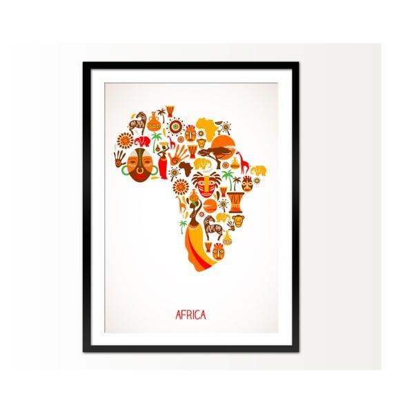 Zarámovaný obraz Africa, 50x70 cm
