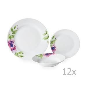 12-dielna porcelánová sada riadu Sabichi Viola