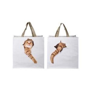 Sada 2 tašiek s potlačou mačiek Ego Dekor Cats