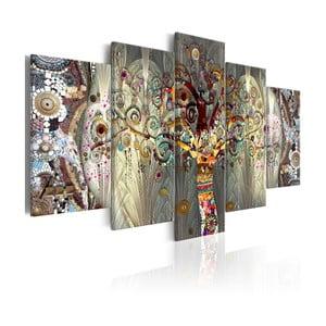 Viacdielny obraz na plátne Bimago Tree of Life, 100×50 cm