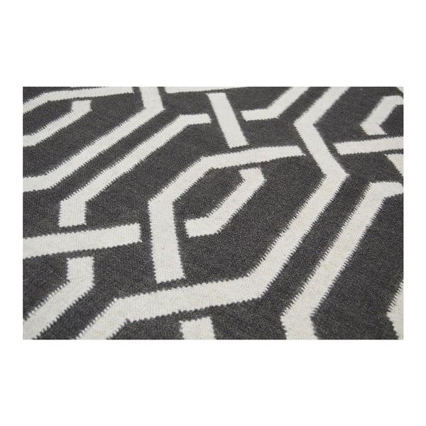 Vlnený koberec Bakero Camila Dark Grey,120x180cm