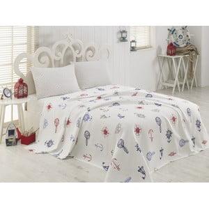 Prikrývka cez posteľ na dvojlôžko Arca, 200 x 230 cm