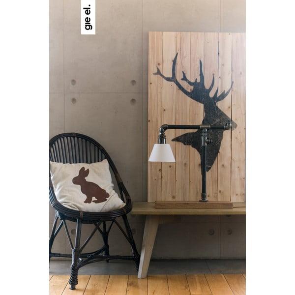 Vankúš s jeleňom 50x50 cm