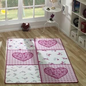 Detský koberec Romantik, 133x190 cm