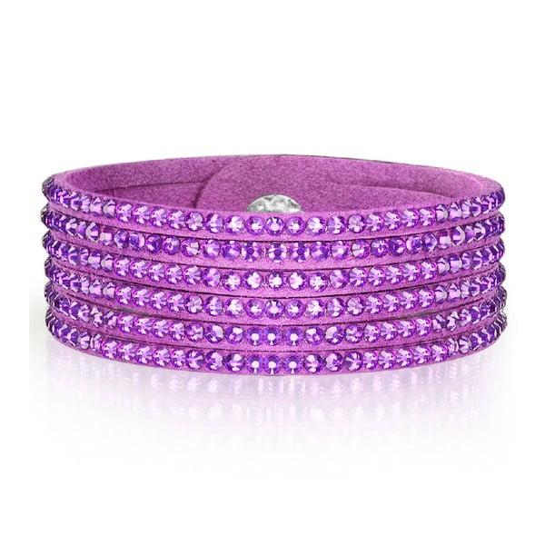 Náramok Simply Violet, 19 cm