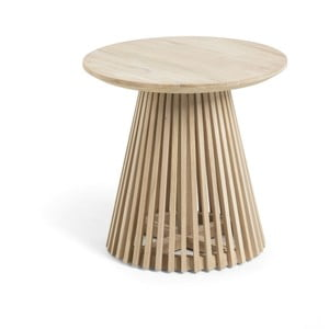 Konferenčný stolík z teakového dreva La Forma Irune, ø 150 cm