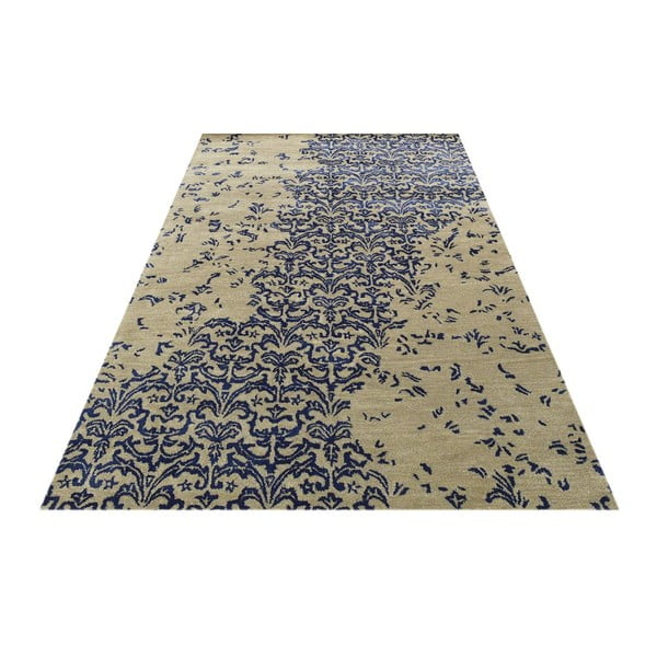 Vlnený koberec New Jersey Dark Blue, 122x183 cm