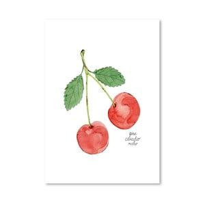 Autorský plagát Cherries, 30x42 m