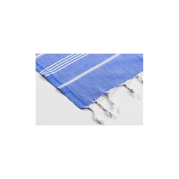 Hamam osuška Sabba Blue, 100x180 cm