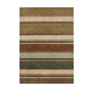 Vlnený koberec Country Green, 140x200 cm