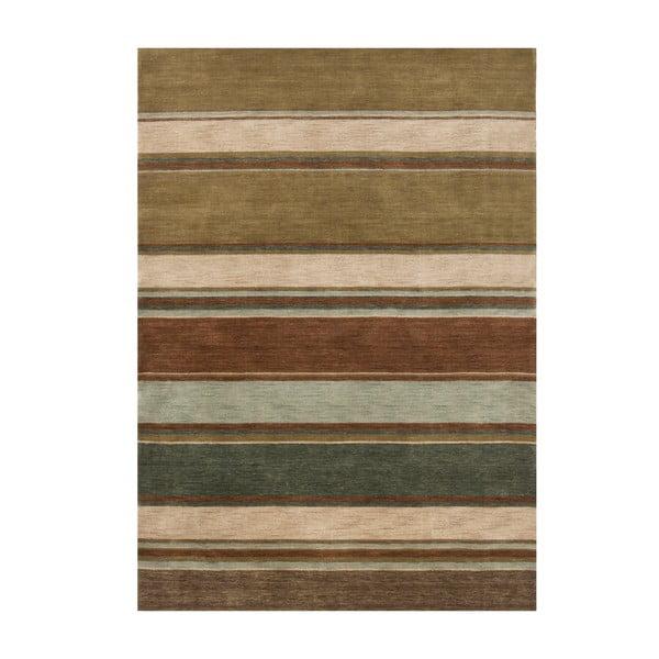Vlnený koberec Country Green, 170x240 cm
