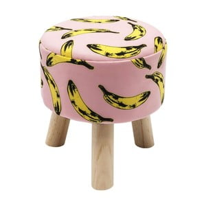 Vzorovaná stolička Kare Design Banana