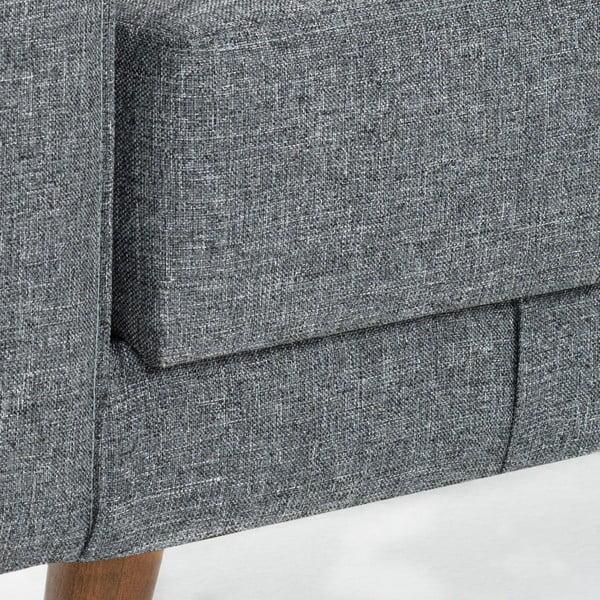 Sivá rozkladacia pohovka Balcab Home Ivonne