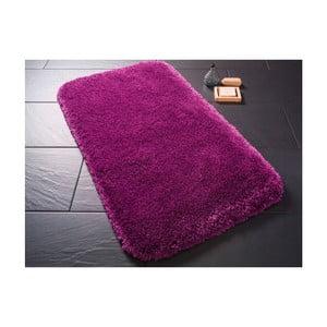 Fialová predložka do kúpeľne Confetti Miami, 100×100cm