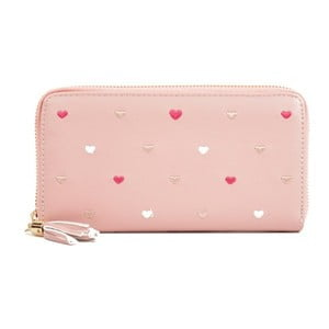 Ružová listová kabelka Sofia Cardoni Carma