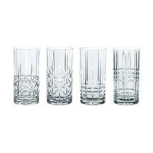 Sada 4 pohárov z krištáľového skla Nachtmann Highlands, 445 ml