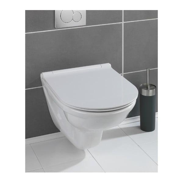 Biele WC sedadlo Wenko Nuoro White, 45,2 × 36,2 cm