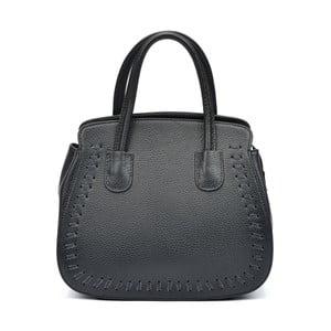Čierna kožená kabelka Roberta M Amadora