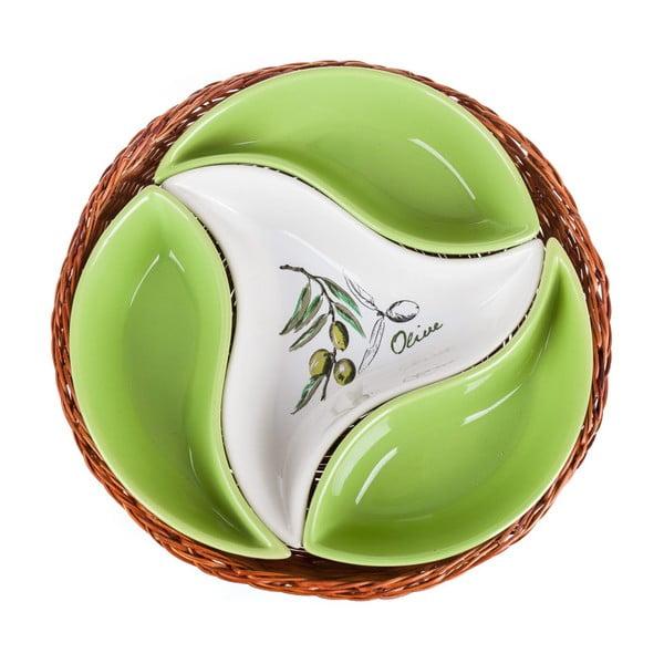 Misa v košíku Banquet Olives, 23 cm