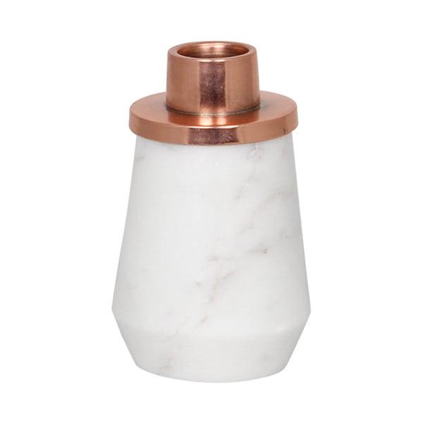 Držiak na sviečku White/Copper Small