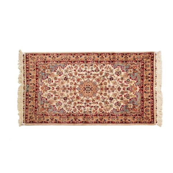 Ručne viazaný koberec Kashmirian, 157x90 cm