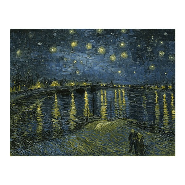 Obraz Vincenta van Gogha - Starry Night 2, 90x70 cm