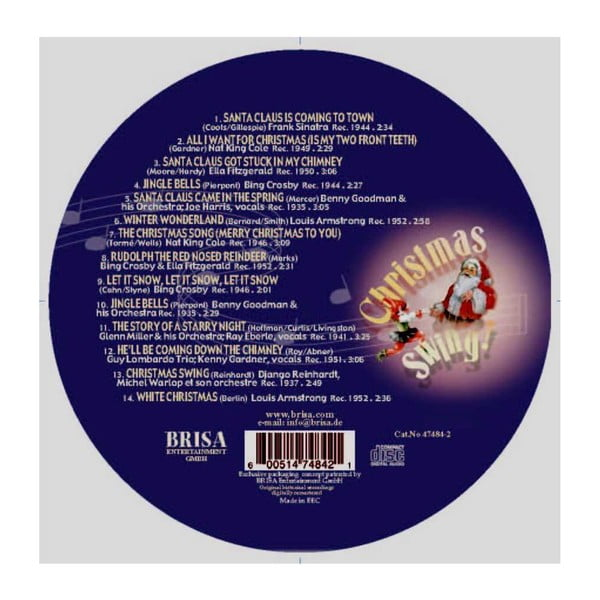 "Vianočný CD ""Christmas Swing"""