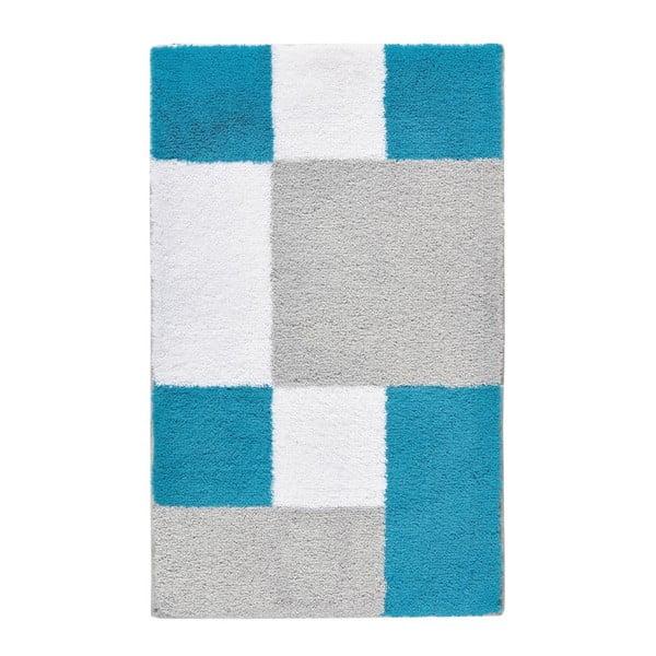 Kúpeľňová predložka Zamba Blue, 60x100 cm