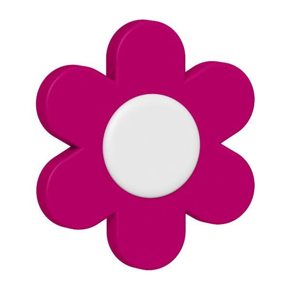 Dekoratívne klipsy na kvetináč Flower Pink, 2 ks