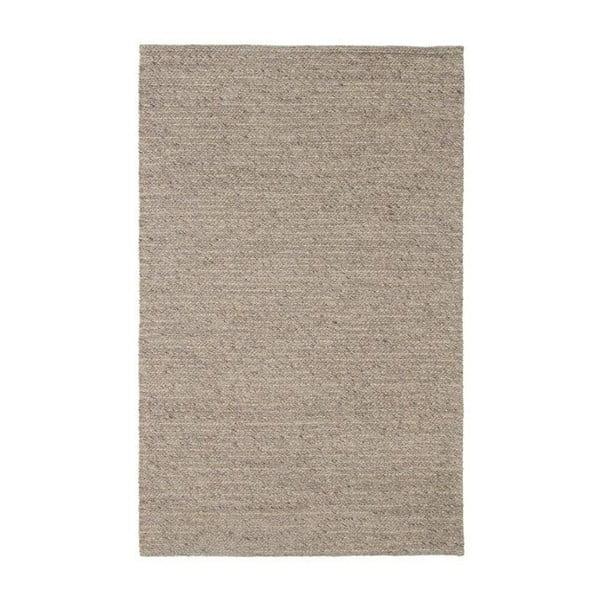 Vlnený koberec Tikos White/Brown, 200x300 cm