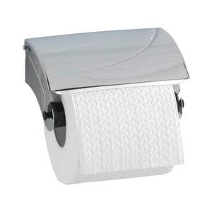 Nástenný držiak s krytom na toaletný papier Wenko Basic