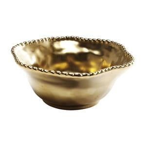 Misa v zlatej farbe Kare Design Bell Gold, ⌀ 16 cm